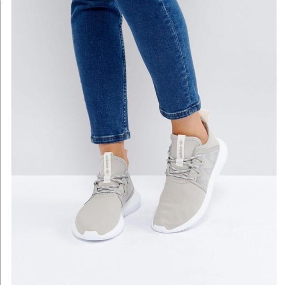 le adidas originale tubular virale in grigio poshmark scarpe